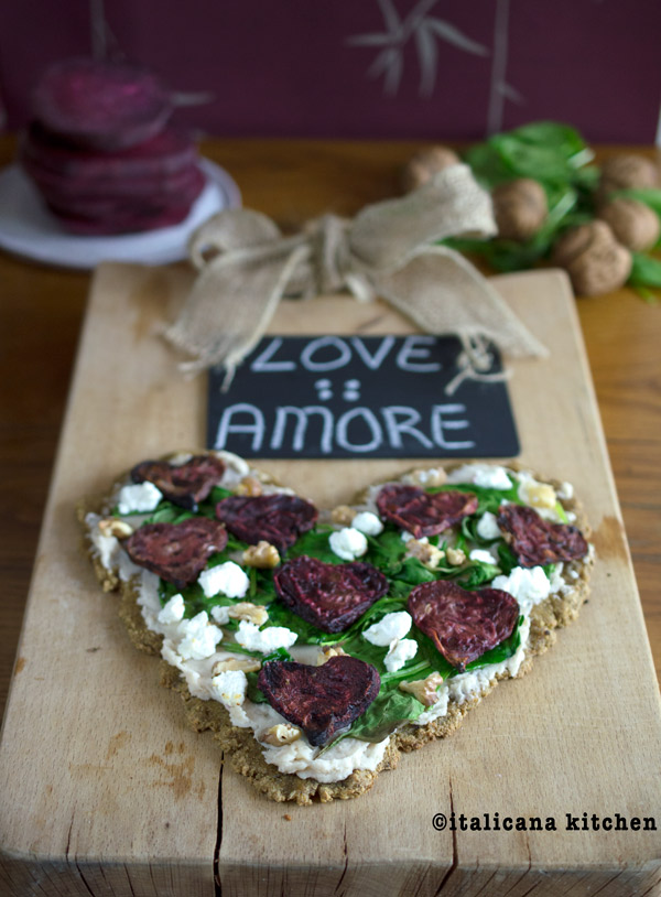 Quinoa-Flatbread-with-Roasted-Beet-Hearts-Spinach-and-Goat-Cheese-5