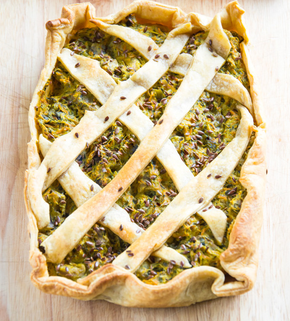 Delicious Savoury Vegetable Pie