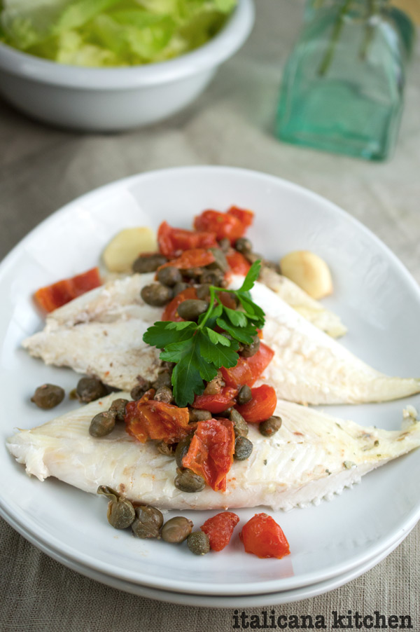 John dory with capers and tomatoes italicana kitchen for John dory recipe