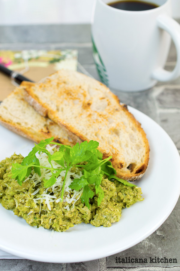 Green Eggs And Toast