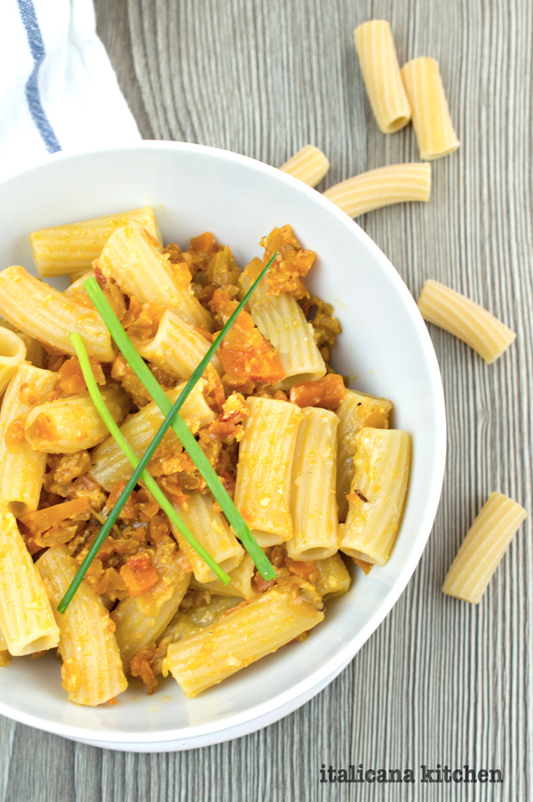 Vegetable Kamut Pasta + 6 Italian Diet Secrets