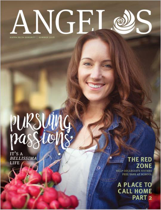 Cindy Swain Angelos Magazine