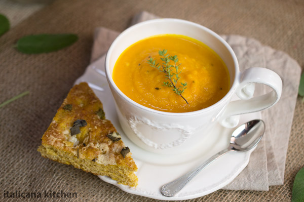 Carrot Soup with Dill and Orange