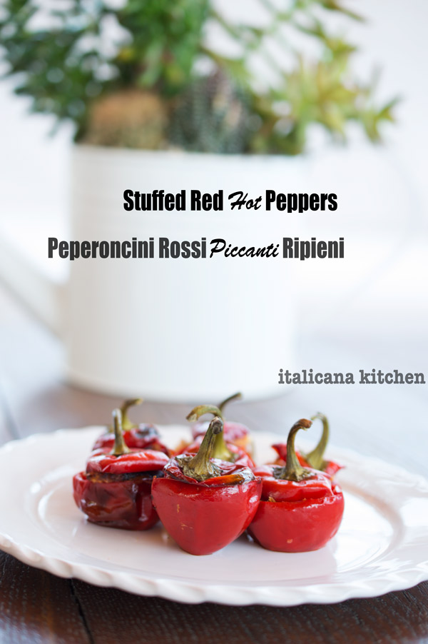 Stuffed Red Hot Peppers