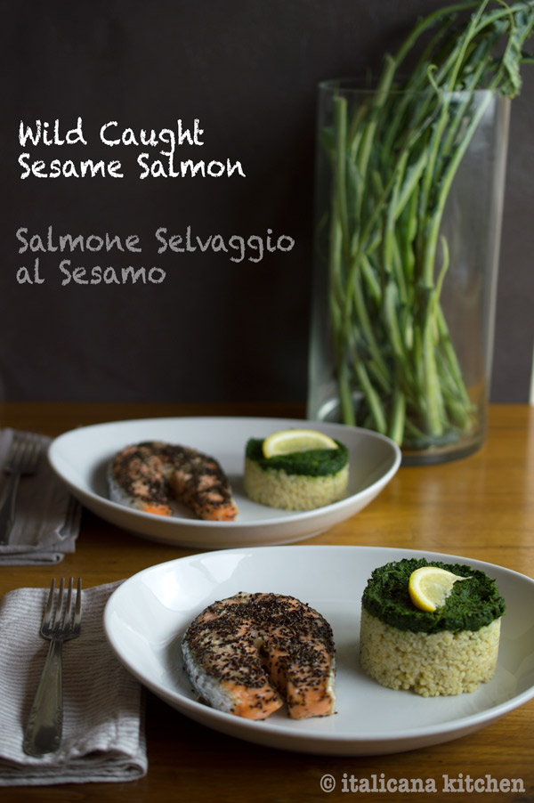Wild Caught Sesame Salmon