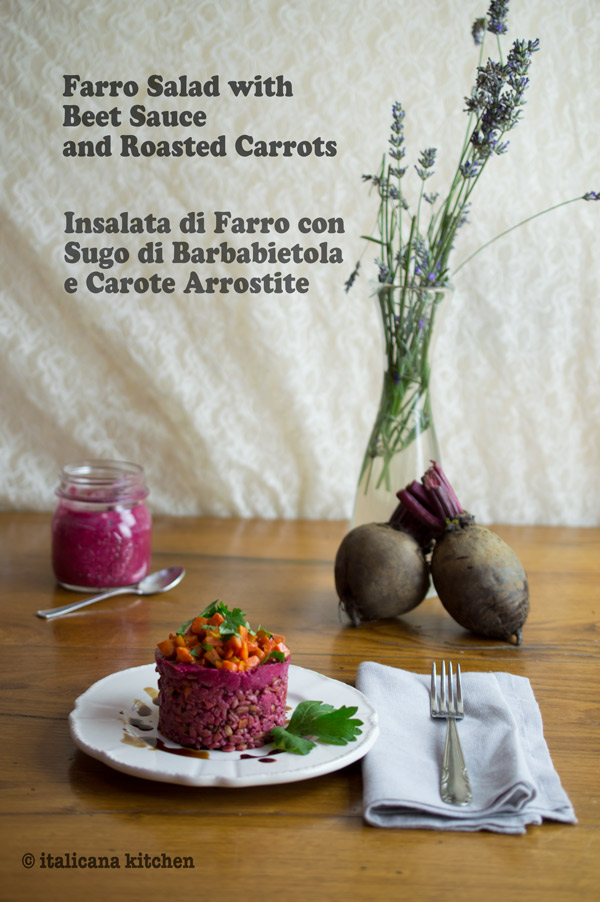 Farro-Salad-with-Beet-Sauce-and-Roasted-Carrots-5