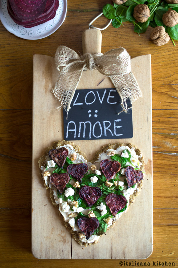 Quinoa-Flatbread-with-Roasted-Beet-Hearts-Spinach-and-Goat-Cheese-6