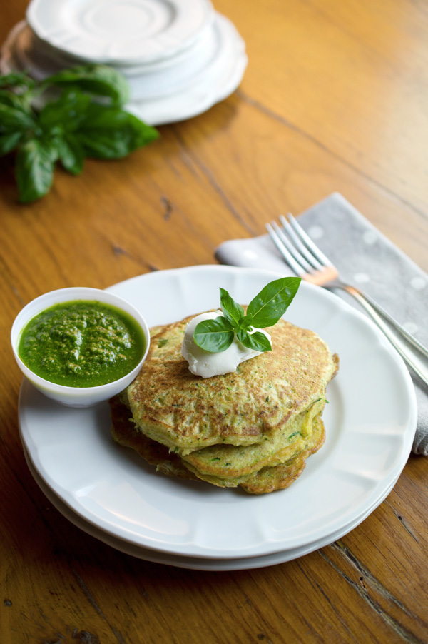 These pancakes are absolutely divine for brunch or served as a gourmet ...
