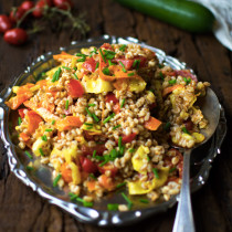 Farro-Salad-with-Carrot-and-Zucchini-Ribbons