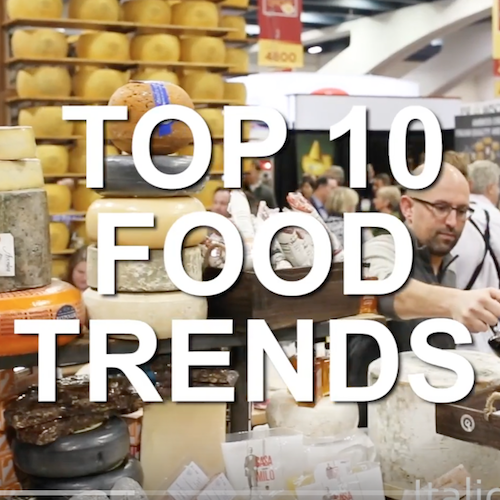 10 FOOD TRENDS AT THE 2017 WINTER FANCY FOOD SHOW IN SAN FRANCISCO