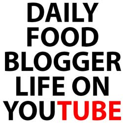 My Food Blogger Life on YouTube!